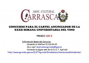 CONCURSO PARA EL CARTEL ANUNCIADOR DE LA-001